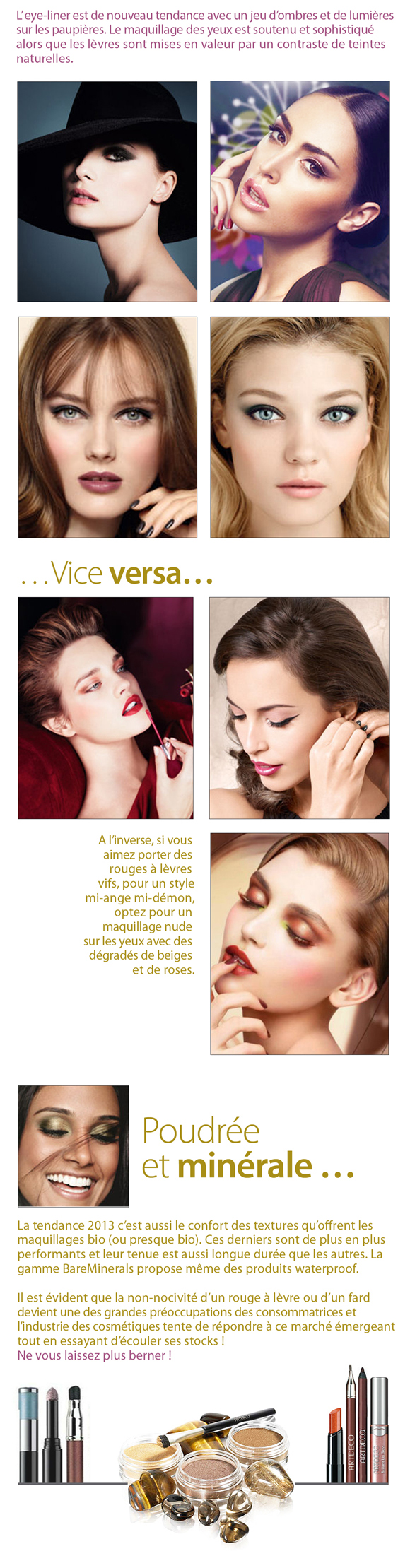 Make up automne hiver 2012 2013